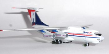 Ilyushin Il-78 Heavylift Cargo Airlines Herpa Metal Model Scale 1:500 532785 E